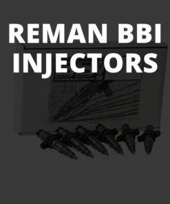Reman BBI injectors